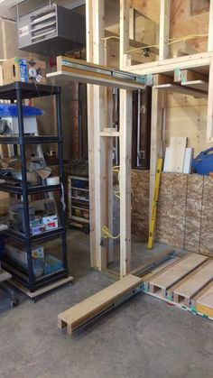 Post with 58587 views. Slide out shelves for under the stairs storage in my garage. Woodworking Joints, Woodworking Workbench, Woodworking Furniture, Woodworking Shop, Woodworking Beginner, Woodworking Quotes, Popular Woodworking, Furniture Plans, Woodworking Projects