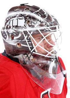 Best goalie masks of 2013 NHL season Hockey Helmet, Hockey Goalie, Hockey Players, Football Helmets, Soccer, Stars Hockey, Ice Hockey Teams, Hockey Stuff, Nhl Season