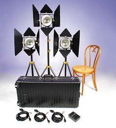 Lowel DP3 lighting kit