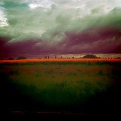 campagne traversée, un tableau