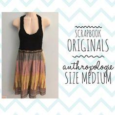 """Gorgeous Scrapbook Originals dress from Anthropologie, size medium! Ending soon! ▶️ stores.ebay.com/rvaclothing804 ◀️ #scrapbookoriginals #anthropologie…"""