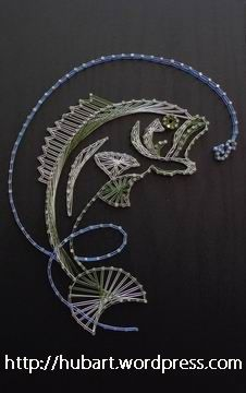 Image result for fish string art