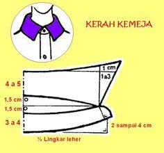 Dress Sewing Patterns, Sewing Patterns Free, Sewing Tutorials, Clothing Patterns, Sewing Diy, Bra Pattern, Collar Pattern, Sewing Collars, Sewing Blouses