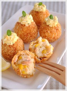 鮭とコーンのクリーミーコロッケ(レシピ付き) - a la table!