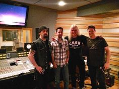rob caggiano at clear track studios