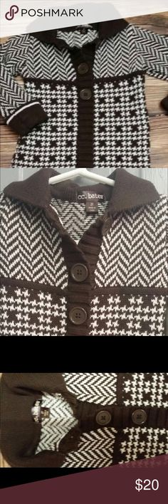 2t boutique sweater dress CCBates Girls Excellent barely worn condition dress in 2t. Rich brown and gorgeous detail. ✔️my closet to save 💰on bundles! I ❤️Offers. cc bates Dresses Casual