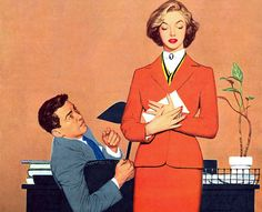 Illustration by Harry Zelinski for the story You Have To Be In The Mood. by totallymystified, via Flickr