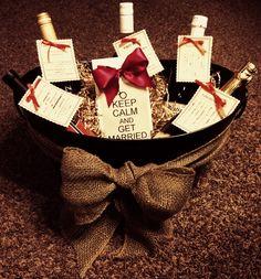 Bridal Shower Gift Basket http://valsjoyfulbaskets.labellabaskets.com/