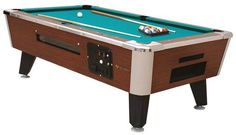 Pool Tables Manufacture of pool tables in the United States Choose between pool table sizes of 7 to 8 feet to find Furniture Projects, Wood Furniture, Pool Table Sizes, American Pool Table, Pool Tables For Sale, Bumper Pool, Pool Table Accessories, Pool Games, Woodworking Plans