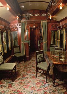 Interior, Pullman private car | by Adirondack Museum