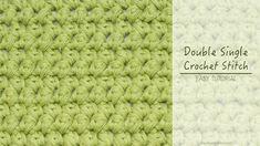 Hopeful Honey | Craft, Crochet, Create: How To: Double Single Crochet (Mini Puffs)