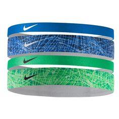 Nike Women's Assorted Printed Headbands 4-Pack