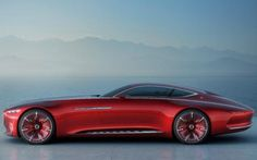 The car was unveiled at the Pebble Beach Concours in California Mercedes Maybach 6