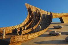 Tonkin Liu :: Solar Lace Bridge