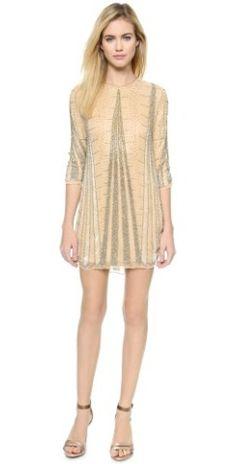Parker Michelle Silk Dress |
