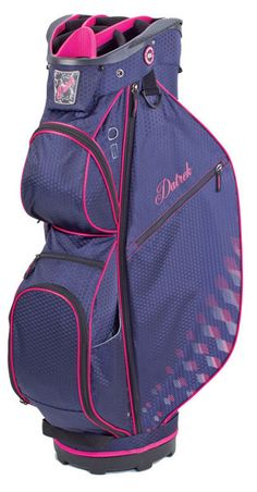 Look no further for a fashionable yet functional golf bag. The Datrek Ladies/Men's CB-Lite Cart Bag offers plenty of features while staying ultra lightweight! #golfaccessories #lorisgolfshoppe