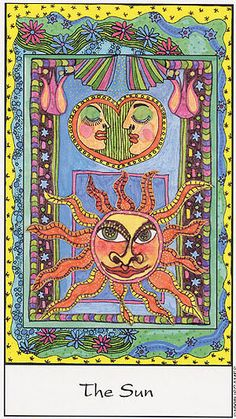 The Sun - Tarot of the Trance