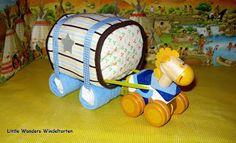 Little Wonders Windeltorten: Kleiner Planwagen
