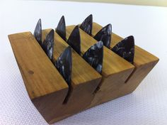 Guitar Pick Holder -  Clean lines & beautifully designed.