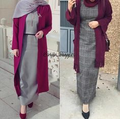 Hijab Style Dress, Casual Hijab Outfit, Hijab Chic, Iranian Women Fashion, Muslim Fashion, Abaya Fashion, Hijab Jeans, Stylish Dress Designs, Hijab Fashionista