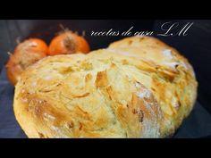 PAN DE CEBOLLA CON TRUCO - YouTube Baguette, How To Make Bread, Empanadas, Cake Pops, Risotto, Ethnic Recipes, Youtube, Videos, Gastronomia