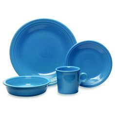 Love this shade of Fiesta: Peacock #Dishes