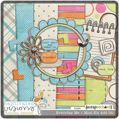 Love this FREE kit from Captivated Visions. #digiscrap #freebie #scrapbook