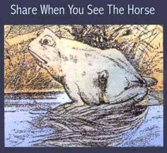Re-pin if u can find the horse! I found it!