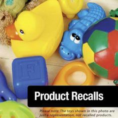 Sign up for children's product recalls from @Marsha James Kids Worldwide.