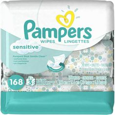 Baby Wipes, Pampers Sensitive Water Based Baby Diaper Wipes, Hypoallergenic and Unscented, 576 Total Wipes in or Refill Packs (Packaging May Vary) Baby Wipes Travel Case, Baby Wipe Case, Wipes Case, Baby Skin Care, Baby Care, Baby Wipe Holder, Clean Perfume, Baby Wipes Container, Wipes Dispenser