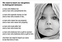 What we need to teach our daughters