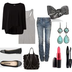 Casual Shopping Outfit, created by blairkuhns on Polyvore