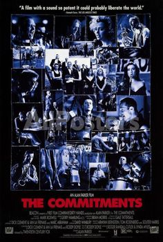 The Commitments Movies Poster - 69 x 102 cm