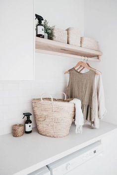 Home Decor / Minimal Interior Design Inspiration – Laundry Room İdeas 2020 Laundry Room Design, Laundry In Bathroom, Small Laundry, Laundry Rooms, Small Bathroom, Basement Laundry, Laundry Area, Target Bathroom, Houzz Bathroom