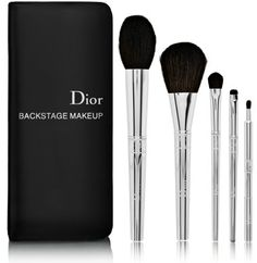 Dior makeup brush kit I really want new makeup brushes :)