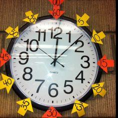... classroom clock.