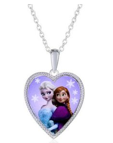 Off Disney Frozen Silver-Plated Anna & Elsa Heart Pendant Baby Doll Nursery, Baby Girl Toys, Toys For Girls, Disney Princess Toys, Disney Girls, Disney Frozen Birthday, Disney Frozen Nails, Minnie Mouse Toys, Best Kids Watches