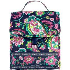 Vera Bradley Lunch Sack in Petal Paisley - products - Fashion Review Product