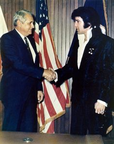 43 years ago today Elvis was photographed getting a hug at LAPD headquarters, December 3, 1970 Elvis was there to get a gold commissioner's badge from Chief Ed Davis