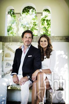İnterview with Princess Madeleine and her husband Chris O'Neill on SVD
