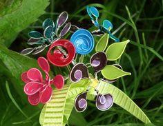 Andere Ideen für kreativen Blumenschmuck aus Draht