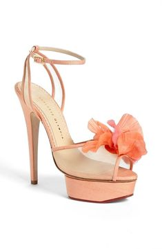 e90124a05b8b7 Pretty bridal shoes / great for the bridesmaids! Charlotte Olympia,  Topánky, Tašky,