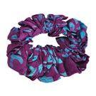 Batik Scrunchie, stocking stuffers. Mexicali blues
