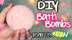 DIY Peppermint Bath Bombs! Inspired by Lush