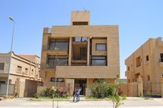 Dar Arafa Residence, Cairo, Egypt, during construction 2006, designed by Waleed Arafa Nominated for the Aga Khan Award for Architecture 2010