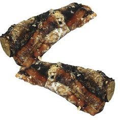 """SMOKEHOUSE MEGA MIGHTY 6"""" ROASTED BEEF RIB BONE 2 PACK - BD Luxe Dogs & Supplies - 1"""