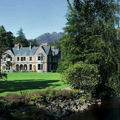 Beautiful Estate House by the Sea & Mountains. Would you like to part of our family team? House By The Sea, United Kingdom, Experience Life, Mountains, Mansions, Nice, House Styles, Scotland, Beautiful