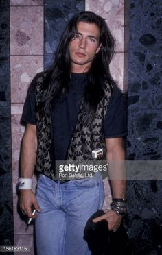 Billy Wirth attends the premiere of 'Drugstore Cowboy' on October 3, 1989 at the Cineplex Odeon Cinema in Century City, California.