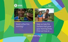 Oxfam New Zealand's Donate your desktop wallpaper @DonateYrDesktop