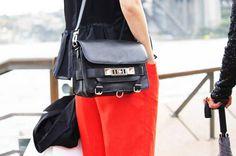 Spotted #MBFWA #Bags